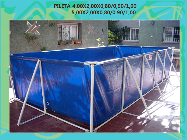 PILETA SUPER DE 4 Y 5 MTS DE LARGO